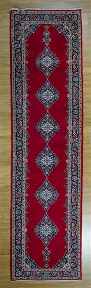 Sale 8665C - Lot 97 - Persian Kashan Runner 380cm x 104cm