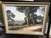 Sale 9024 - Lot 2042 - Henry Emmett Kanimbla Valley, NSW oil on board 36 x 46cm (frame), signed lower right -