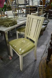 Sale 7987A - Lot 1229 - Pair of Modern Dining Chairs