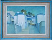 Sale 8019A - Lot 85 - Dorothy Atkins - Down To Rushcutters 39 x 49.5cm