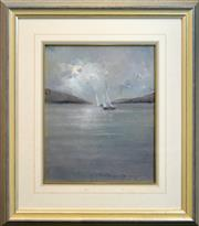 Sale 8281 - Lot 504 - Peter Fennell (1949 - ) - Solway Pass (Whitsunday Island) 49 x 39cm