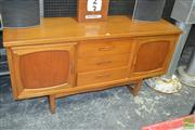Sale 8275 - Lot 1082 - 1960s teak sideboard