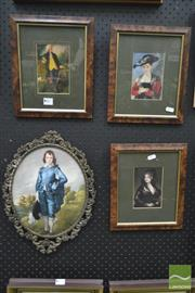 Sale 8250C - Lot 2007 - Collection Of Well Framed Portraits