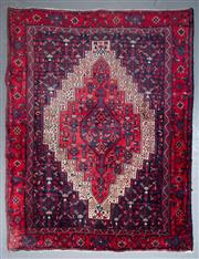 Sale 8545C - Lot 29 - Persian Hamabad 150cm x 116cm