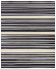 Sale 8651C - Lot 62 - Colorscope Collection; Flatweave Wool and Cotton - Stripe Purple Rug, Origin: India, Size: 160 x 230cm, RRP: $499