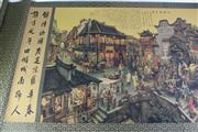 Sale 8935D - Lot 609 - Chinese scroll featuring a city scene