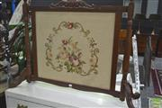 Sale 8272 - Lot 1040 - Tapestry Fire Screen