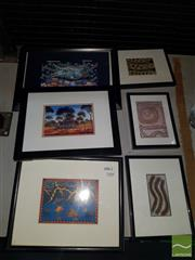 Sale 8548 - Lot 2104 - Collection of Small Framed Prints incl Aboriginal