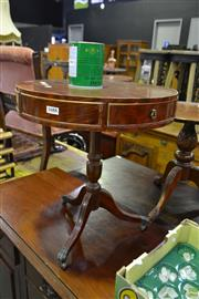 Sale 8566 - Lot 1688 - Mahogany Side Table with Drawers