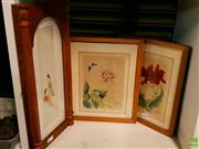Sale 8582 - Lot 2094 - 3 Oriental Paintings