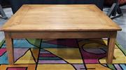 Sale 8971 - Lot 1040 - Rustic Timber Coffee Table (H:32 x W:120 x D:120cm)