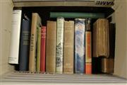 Sale 8346 - Lot 2286 - Box of Books incl. Hong Kong Report for the year 1963; Haylen, L. Chinese Journey, pub. A&R, 1959; Roberts, C. And so to Bath,...