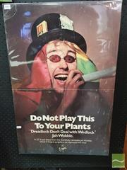 Sale 8421 - Lot 1007 - Vintage and Original Jah Wobble DO NOT PLAY THIS TO YOUR PLANTS Promotional Poster (74cm x 49cm)
