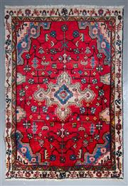 Sale 8545C - Lot 30 - Persian Tabriz 143cm x 100cm