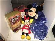Sale 8659 - Lot 2340 - Bag of Mickey Mouse Items