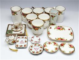 Sale 9098 - Lot 215 - Collection of Royal Albert Old Country Roses Tea Wares incl. Mugs, etc.