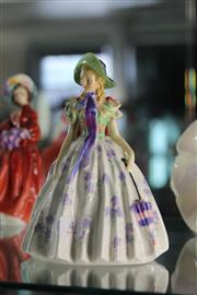Sale 8189 - Lot 4 - Royal Doulton Figure Easter Day