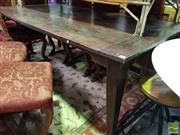 Sale 8532 - Lot 1409 - Timber Dining Table