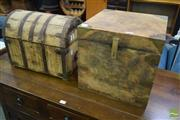Sale 8550 - Lot 1557 - Small Timber Boxes x 2