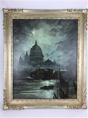 Sale 8607R - Lot 49 - N. Clark - Oil on Canvas (61 x 49cm)
