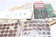 Sale 8701 - Lot 339 - Coin Collection Incl Pennies Together With Album Of Royal Stamps