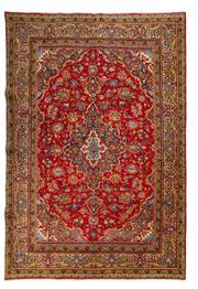 Sale 8800C - Lot 57 - A Persian Najafabad From Isfahan Region 100% Wool Pile On Cotton Foundation, 292 x 195cm