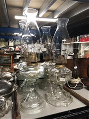 Sale 8797 - Lot 2450 - 4 Kerosene Lamps