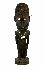 Sale 3850 - Lot 105 - A LARGE ORATORS STOOL KORAGO VILLAGE SEPIK RIVER PAPUA NEW GUINEA