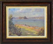Sale 8382 - Lot 563 - Robert Campbell (1902 - 1972) - View to Clark Island 28.5 x 36cm