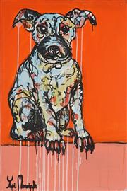Sale 9062A - Lot 5036 - Yosi Messiah (1964 - ) - Baby Dog 91 x 61 cm (total: 91 x 61 x 4 cm)