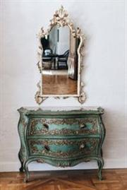 Sale 8972H - Lot 2 - A Fine Italian Commode with a restored marble top, formerly owned by Franco Belgiorno-Nettis, the Australian industrialist and patro...