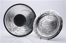 Sale 9185 - Lot 92 - Don Sheil metal plate and another (Dia:25-28cm)