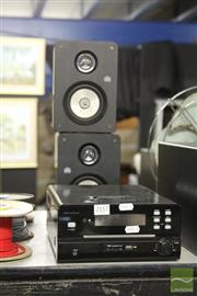 Sale 8217 - Lot 2117 - Ministry of Sound Multimedia Player & 2 Ministry of Sound Speakers Audio System