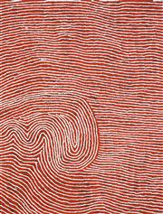 Sale 8437A - Lot 5008 - Yukultji Napangati (c1970 - ) - Untitled 96 x 72cm