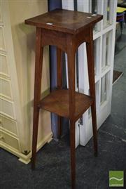 Sale 8532 - Lot 1291 - Tiered Timber Plant Stand