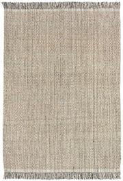 Sale 8651C - Lot 67 - Colorscope Collection; Flatweave Jute and Cotton - Black and Beige Diamonds Rug, Origin: India, Size: 160 x 230cm, RRP: $499