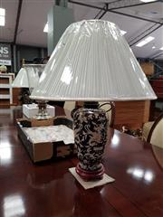 Sale 8843 - Lot 1046 - Pair of Chinese Museum Replica Table Lamps (4224)