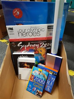 Sale 9180 - Lot 2037 - Collection 2000 Olympic Items incl. Sydney 2000Olympic Games Image Guidelines; The Olympic Games Fundamentals & Ceremonies; etc