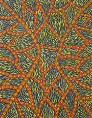Sale 8011A - Lot 6 - Colleen Wallace Nungurrayi - Untitled 85.5 x 66cm