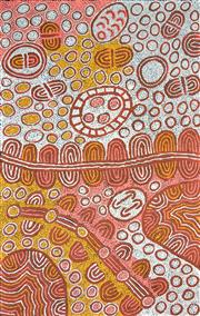 Sale 8345A - Lot 18 - Marlene Young Nungurrayi (1973 - ) - My Country 150 x 96cm