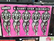Sale 8421 - Lot 1026 - Vintage and Original Squeeze A Giant Step Sideways Promotional Poster (50.5cm x 76cm)