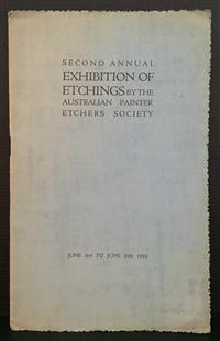 Sale 8176A - Lot 87 - Second Annual Exhibition of Etchings by the Australian Painter Etchers Society in 1922. 12 pages.