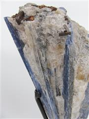 Sale 8431A - Lot 612 - Kyanite on Quartz, Brazil