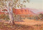 Sale 8665 - Lot 506 - Peter Snelgar (1941 - ) - Dry River near Alice 34 x 47.5cm