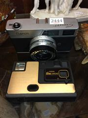Sale 8659 - Lot 2444 - Canon Camera with Another (2)
