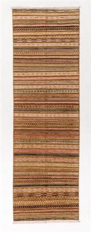 Sale 8790C - Lot 109 - An Afghan Chobi Gabbeh Naturally Dyed In Hand Spun Wool, 295 x 92cm
