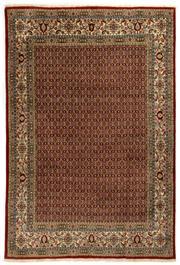 Sale 8800C - Lot 61 - A Persian Mood From Khorasan Region Very Fine 100% Wool And Silk Inlaid Pile, 193 x 284cm