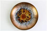 Sale 8855 - Lot 23 - Glazed Mid Century Bowl (signed below)