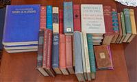 Sale 9080H - Lot 36 - A quantity of books including Winston Churchill II WW volumes 1-3 and Hutchinsons Story of the Nations Vol1-3 and other