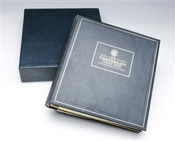 Sale 9098 - Lot 440 - The Commonwealth Collection Ltd Ed Stamp Album
